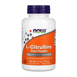 NOW. Citrulline Powder - 113 г