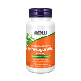NOW. Ashwagandha Extract 450 мг - 90 капс