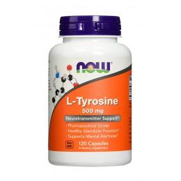 NOW. L-Tyrosine 500 мг - 120 капс