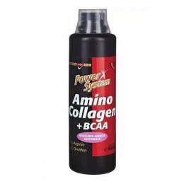 PowerSystem. Amino Collagen + BCAA - 500 мл