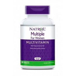 Natrol. Multiple for Women Multivitamin - 90 таб
