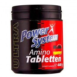 PowerSystem. Amino Tabletten - 220 таб