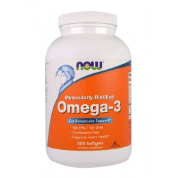 NOW. Omega 3 - 1000 мг - 500 капс