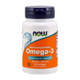 NOW. Omega 3 - 1000 мг - 30 капс