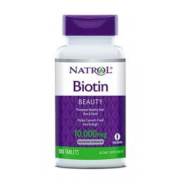Natrol. Biotin 10 мг - 100 таб