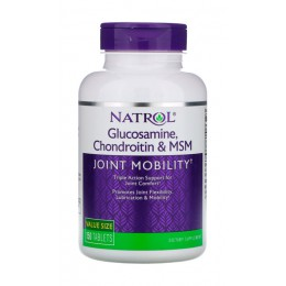 Natrol. Glucosamine Chondroitin MSM - 150 капс