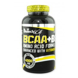 BioTech. BCAA+B6 - 200 таб