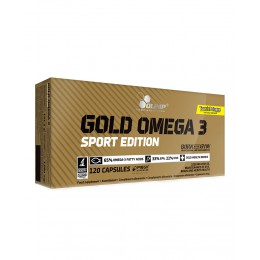 Olimp. Gold Omega-3 Sport Edition - 120 капс
