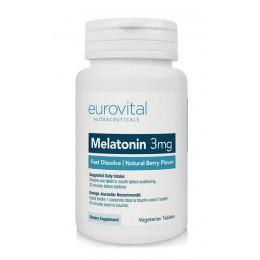 Eurovital. Melatonin 3 мг - 50 таб