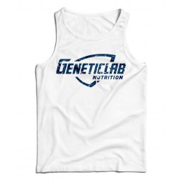 GeneticLab. Майка белая