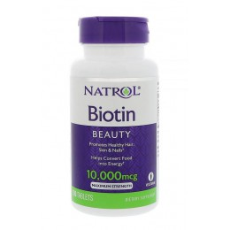 Natrol. Biotin 10 мг - 60 таб