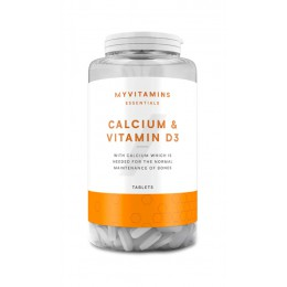 MyProtein. Calcium & Vitamin D3 - 180 таб