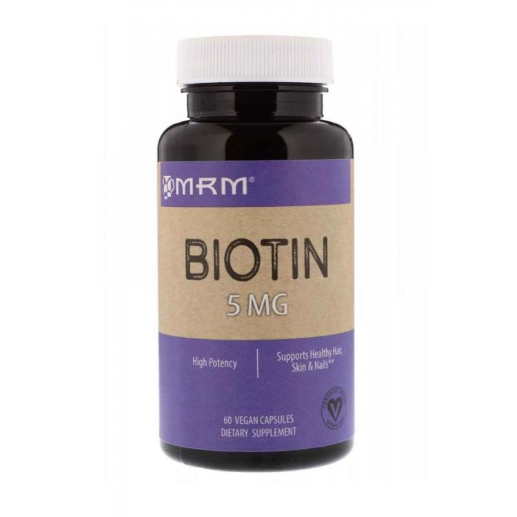 MRM. Biotin 5 мг - 60 капс