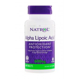 Natrol. Alpha Lipoic Acid 600 мг - 45 таб