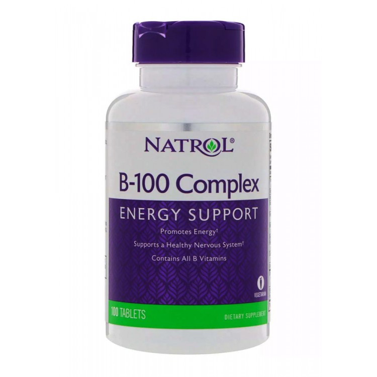 Natrol. B-100 Complex - 100 таб