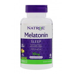 Natrol. Melatonin Sleep Advanced 10 мг - 60 таб