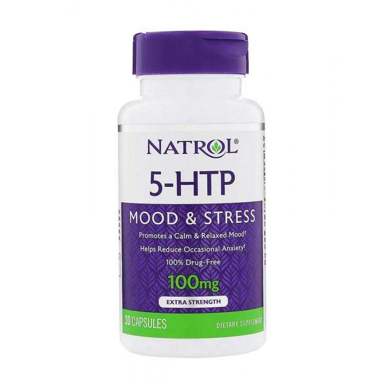 Natrol. 5-HTP 100 мг - 30 капс