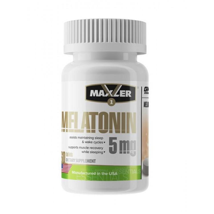 Maxler. Melatonin 5 мг - 60  таб
