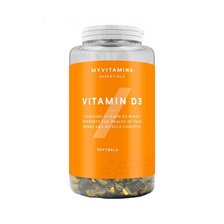 MyProtein. Vitamin D3 (2500 МЕ) - 180 капс
