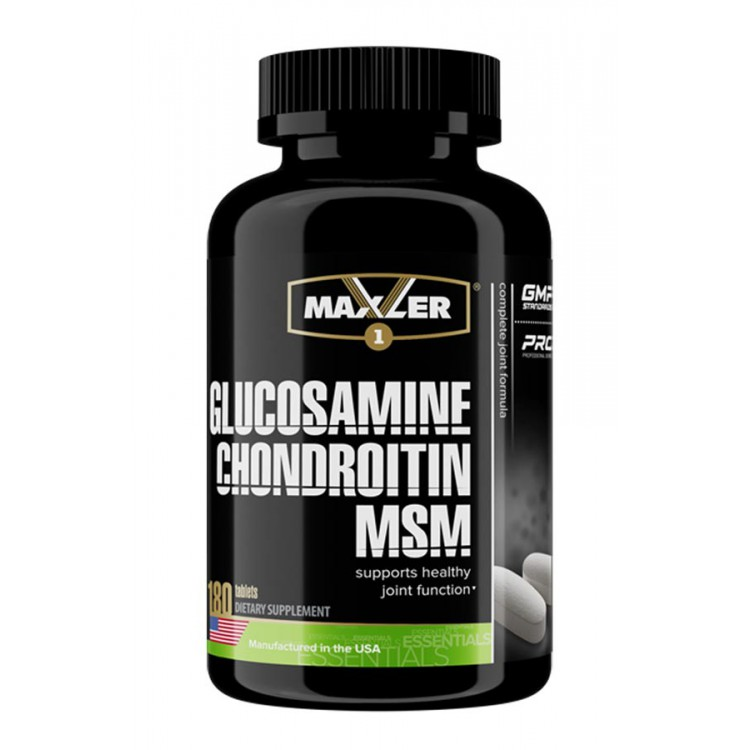 Maxler. Glucosamine-Chondroitin-MSM - 180 таб