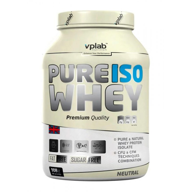 VPLab. Pure ISO Whey - 908 г