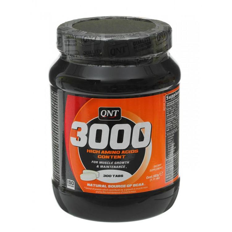 QNT. 3000 High Amino Acids Content - 300 таб