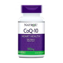Natrol. CoQ10 - 100 мг - 45 капс