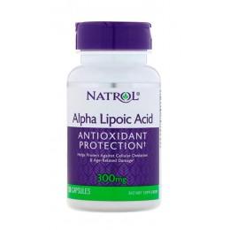 Natrol. Alpha Lipoic Acid 300 мг - 50 капс
