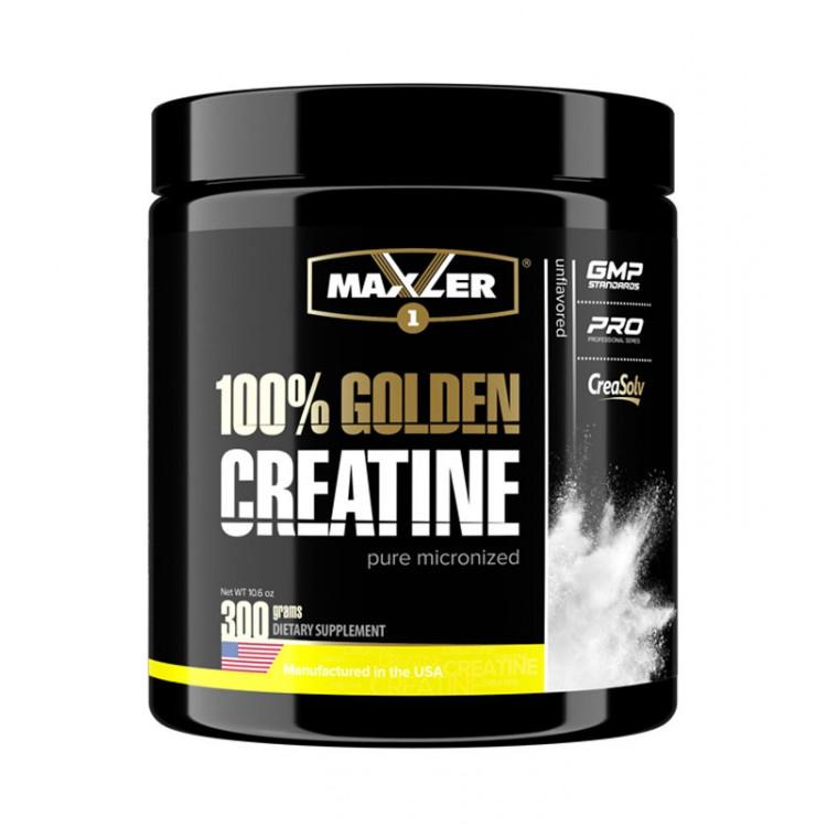Maxler. 100% Golden Creatine - 300 г (банка)