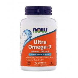 NOW. Ultra Omega 3 - 90 капс