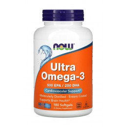 NOW. Ultra Omega 3 - 180 капс