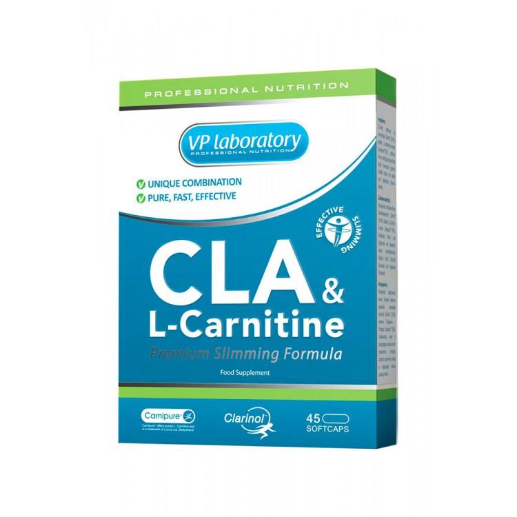 VPLab. CLA+L-carnitine - 45 капс