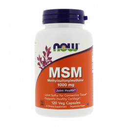 NOW. MSM (Methylsulfonylmethane) 100 мг - 120 капс
