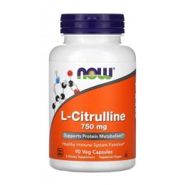 NOW. L-Citrulline - 90 капс