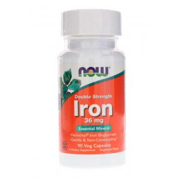 NOW. Iron 36 мг - 90 таб