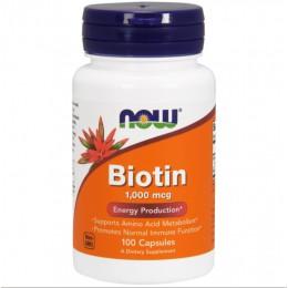 NOW. Biotin 5000 мкг - 100 капс