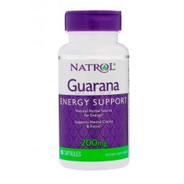Natrol. Guarana 200 мг - 90 таб