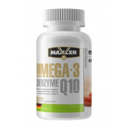 Maxler. Omega-3 Coenzyme Q10  - 60 капс