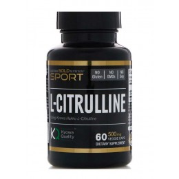 CaliforniaGold. L-Citrulline - 60 капс