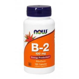 NOW. B-2 100 мг - 100 капс