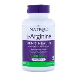 Natrol. L-Arginine 3000 мг - 90 таб