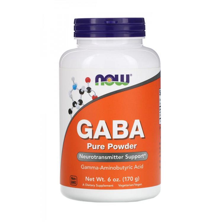 NOW. GABA 500 мг - 170 г