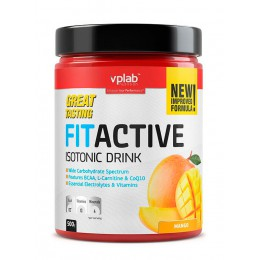 VPLab. Fitactive Isotonic Drink - 500 г (банка)