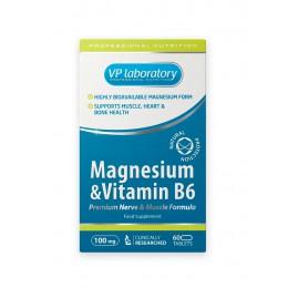 VPLab. Magnesium + B6 - 60 таб