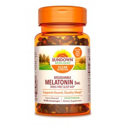 Sundown. Melatonin 5 мг - 90 таб