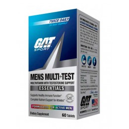 GAT. Mens Multi + Test - 60 капс