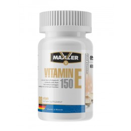 Maxler. Vitamin E Natural form 150 мг - 60 капс