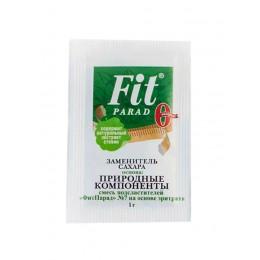FitParad. Заменитель сахара (Эритрит + Стевия) - 60 г