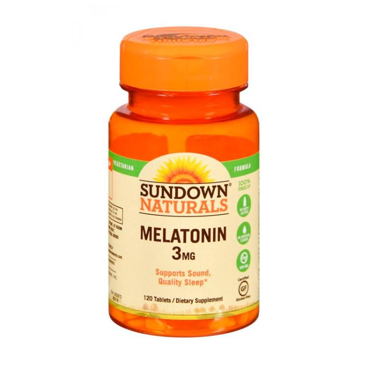 Sundown. Melatonin 3 мг - 120 таб