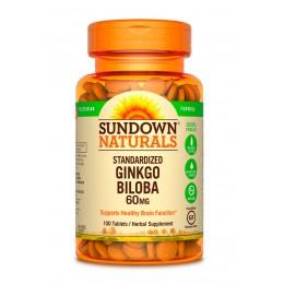 Sundown. Ginkgo Biloba 60 мг - 100 таб